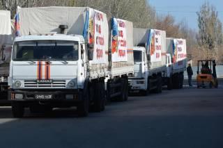 Погранцы утверждают, что грузовики «гумконвоя» зашли на Донбасс полупустыми