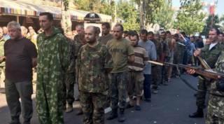 Боевики шантажируют Украину 30-летним тюремным заключением пленных