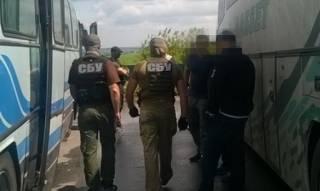 СБУ пресекла нелегальные пассажирские перевозки из ЛНР в Одессу