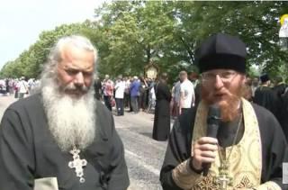 Крестный ход из Почаева остановили из-за повторного сообщения о минировании дороги