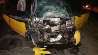 На Львовщине произошло серьезное ДТП с участием микроавтобуса