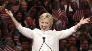 Демократы выдвинули Хиллари Клинтон на пост президента США