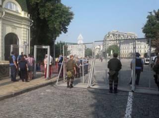 Участники крестного хода уже на Майдане