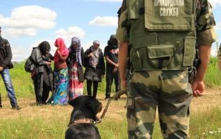 На Закарпатье местный житель переправлял нелегалов через границу