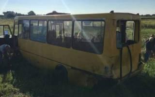 На Львовщине автобус с детьми столкнулся с маршруткой. Есть пострадавшие