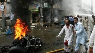 В Пакистане у ворот больницы прогремел взрыв. Более 50 погибших