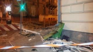 Во Львове взорвали банкомат