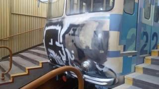 Неизвестные вандалы отсрочили выход из ремонта киевского фуникулера