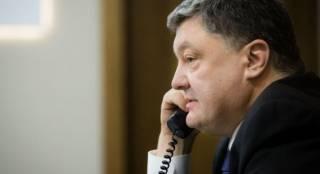 Порошенко рассказал Байдену о ситуации на границе с АР Крым и на Донбассе
