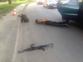 В Харькове дезертир открыл стрельбу из автомата