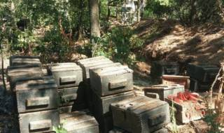 В Марьинском районе нашли тайник боевиков с 2 тоннами тротила