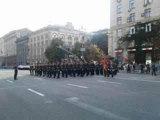 В Киеве состоялась генеральная репетиция парада