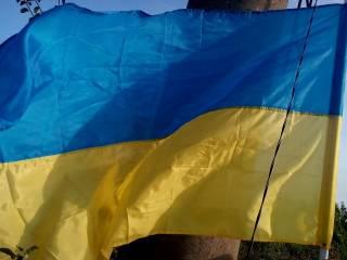 Украинские бойцы подняли флаг Украины в авдеевской промзоне