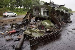 Поселок Луганское окружен террористами