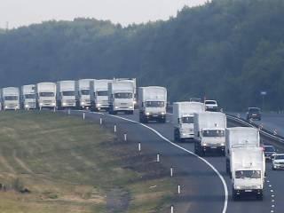 70 российских грузовиков, под видом очередного «гумконвоя», пересекли нашу границу