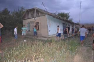 В селе на Одесщине начались цыганские погромы