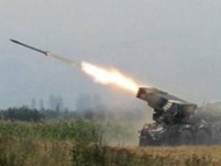 За минувшие сутки террористы обстреляли украинские позиции без малого сотню раз