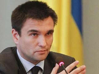 Климкин: Оружие из России пришло, пусть оно в Россию и уйдёт