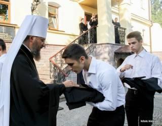 В Киевских духовных школах новый учебный год: будущими священниками станут математики, музыканты, конструкторы и учителя