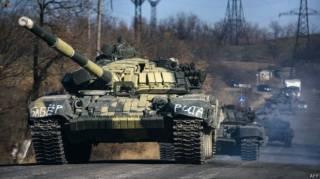 Разведка: Россия перебрасывает танки и горючее в район Иловайска