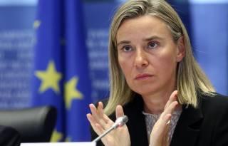 Могерини предлагает обсудить имплементацию Минских договоренностей