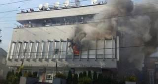 В деле о поджоге здания телеканала «Интер» задержанных нет