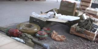 Найденный тайник с боеприпасами на Луганщине доказывает присутствие там российских войск