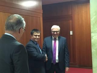 Климкин и Штайнмайер согласовали дальнейшие шаги по минским соглашениям
