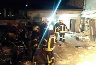 В Киеве прогремел взрыв. Ранен человек