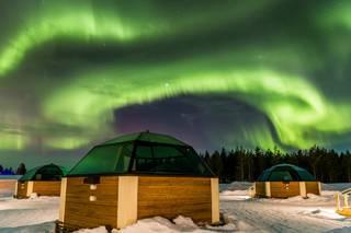 Финский отель объявил вакансию на сторожа северного сияния