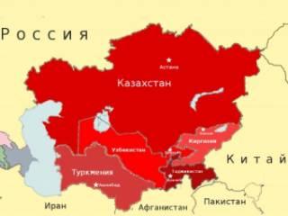 Центральную Азию подташнивает
