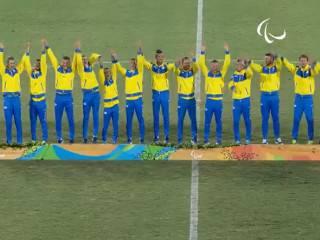 Украинские футболисты выиграли золото Паралимпиады