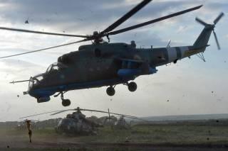 Горячий май военных вертолетчиков