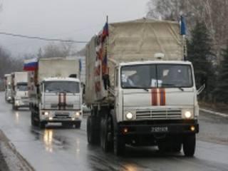 В Украину вторгся очередной конвой из России
