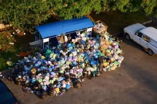 Во Львове опять начинается мусорный коллапс