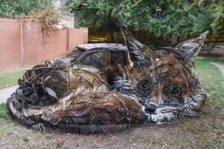 Львову на заметку: португальский художник создает стрит-арт, который делает мир чище