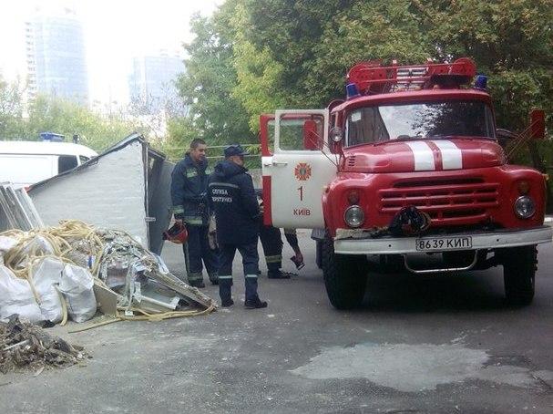Вцентре столицы Украины горела школа, эвакуировали 600 воспитанников
