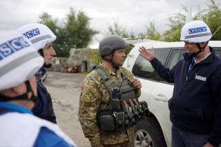 ОБСЕ: Перемирие на Донбассе не действует