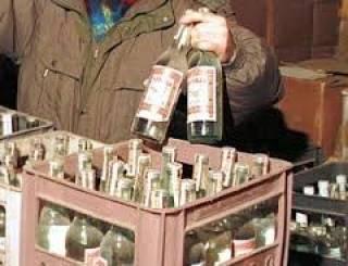В Харькове задержали организатора и сообщников производства суррогатного алкоголя