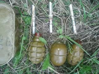 В Троицком нашли склад боеприпасов