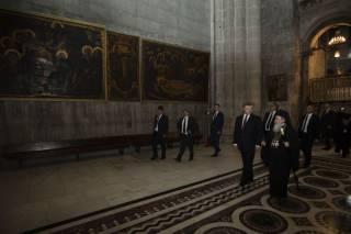 Патриарх Феофил рассказал Порошенко об истинной цели церкви