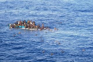 За сутки в Средиземном море спасли более 6 тыс. мигрантов