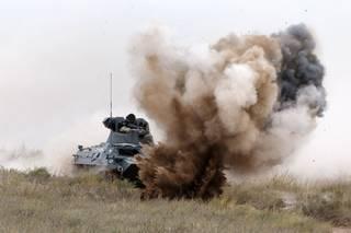 Россия снова проводит военные учения