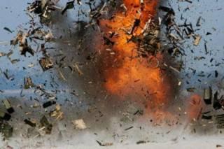 Жебривский подтвердил, что в Макееевке прогремел мощный взрыв. Полгорода без света
