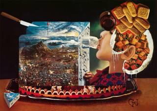 Почти полстолетия назад Сальвадор Дали разукрасил поваренную книгу. Попробуйте приготовить хоть что-нибудь из нее
