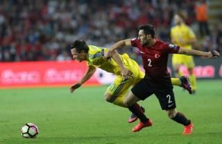 Отбор на ЧМ-2018: Украина упустила победу над Турцией