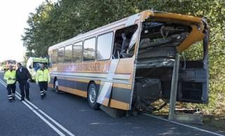 В Дании разбился автобус с подростками-беженцами
