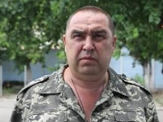 Плотницкий в Луганске согнал митинг против миротворцев