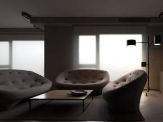 По задумке дизайнеров, в этой киевской квартире должна жить молодая семья