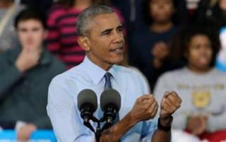 Обама призвал республиканцев отказаться от Трампа